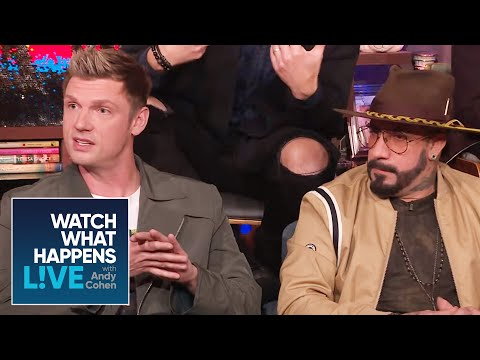 Do The Backstreet Boys Think Justin Timberlake Should Reunite With NSYNC? | WWHL | WWHL
