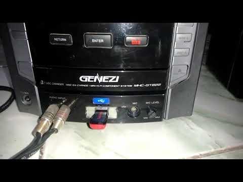 Sony MHC-GT222 Funcionando com STK em curto!!