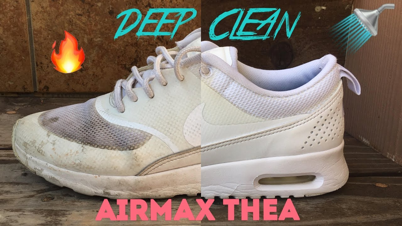 Comment Nettoyer Blanc Nike Air Max Thea