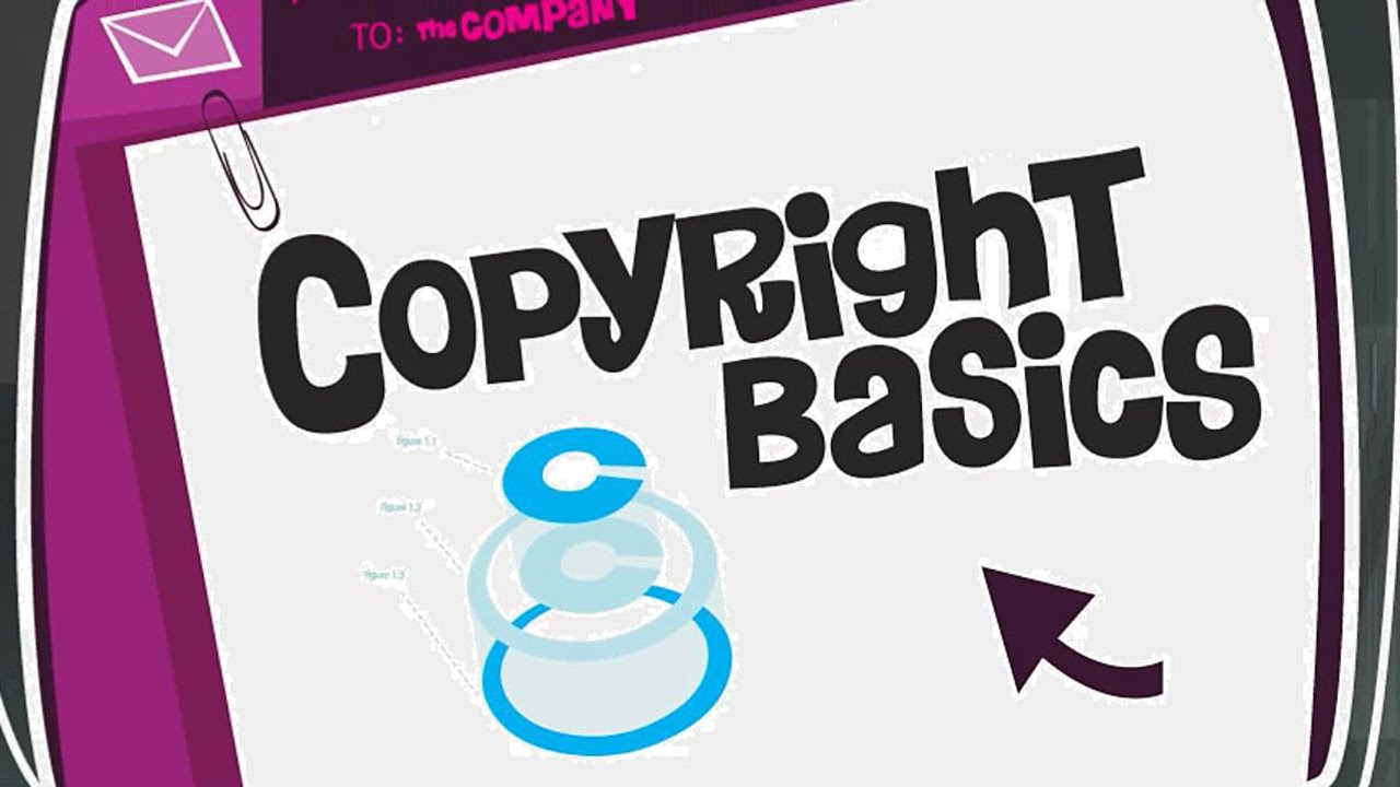 copyright basics youtube