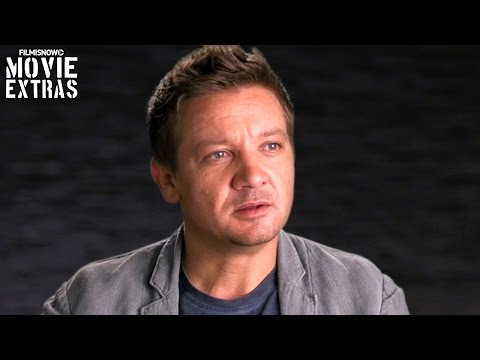 Arrival | On-set visit with Jeremy Renner 'Ian Donnelly'