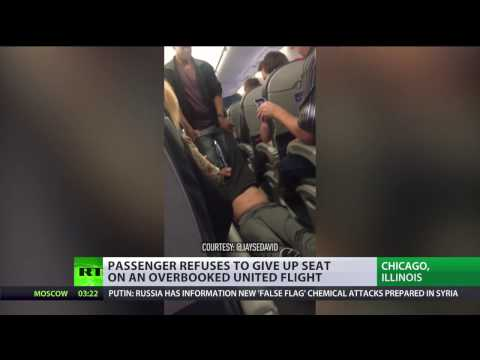 'No worries about overbooked flights again': United Airlines in hot bed for passenger eviction