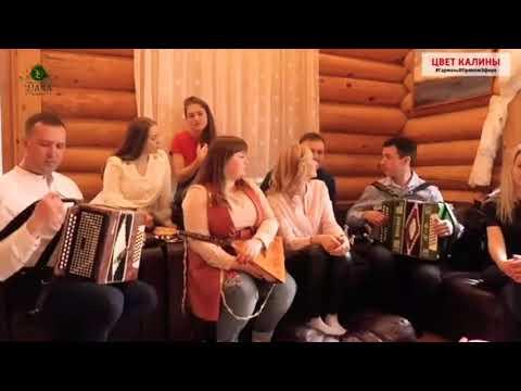 Ансамбль Калина и ансамбль Пташица - Прячет ягодиночка глаза.