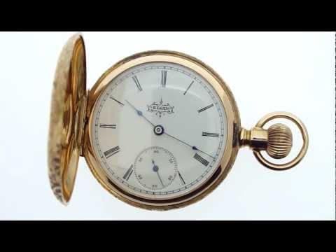 Elgin National Watch Co. pocket watch (grade 117, 7J, 6s)