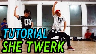 "vuclip ""SHE TWERK"" - Cash Out Dance TUTORIAL 