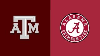Week 4 2018 #22 Texas A&M at #1 Alabama In Under 40 Minutes