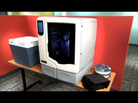 Learn About 3D Desktop Printers   uPrint SE Plus.flv