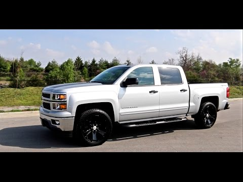 "2015 CHEVROLET SILVERADO 1500 2LT RALLY 2 EDITION 22"" BLACK WHEELS ..."