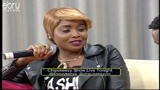 Kush Tracey Laughs Off Msupa S/Kenya's Cardi B's Diss on Chipukeezy Show