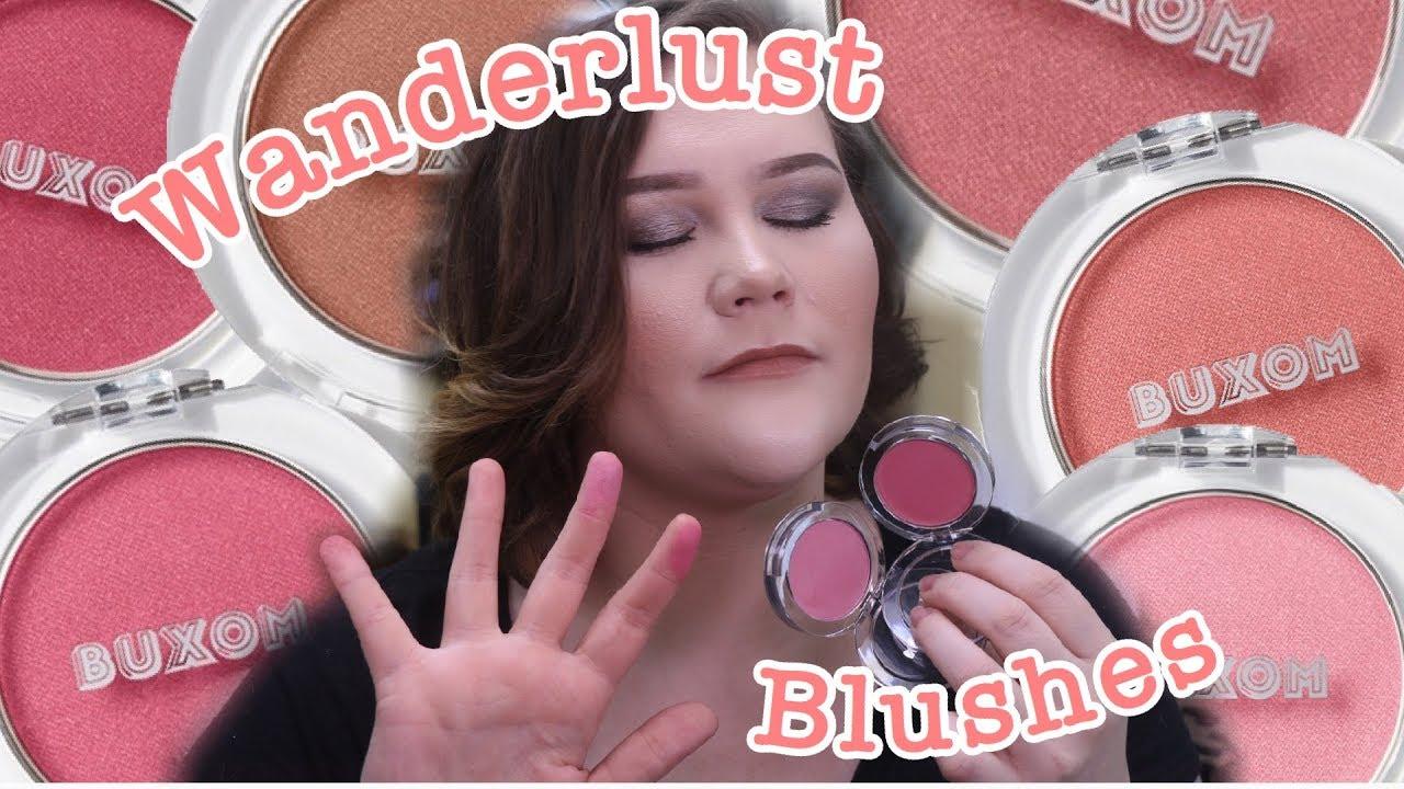 Wanderlust Primer-Infused Blush by Buxom #4