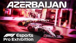 F1 Esports Pro Exhibition Race! | Baku