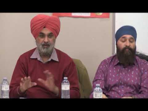 Press Conference at Malton Gurudwara, ban on Indian government officials