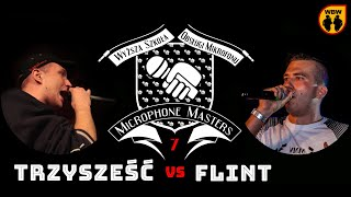 FLINT vs TRZY SZEŚĆ @ Microphone Masters 7 @ freestyle battle