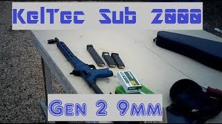 Range Visit 001 - KelTec Sub2000 Gen 2 function and accuracy tests