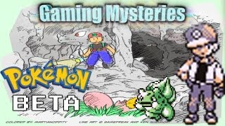 Gaming Mysteries: Capsule Monsters/Pokemon Red and Green Beta (Gameboy)