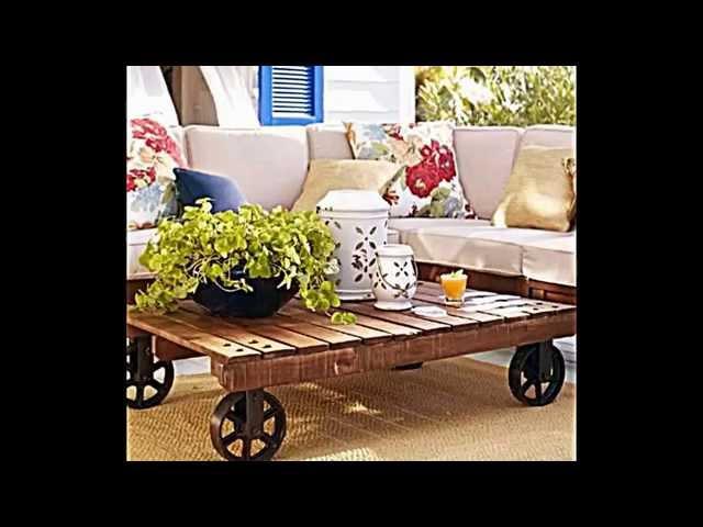Möbel Aus Europaletten    Wohnideen Für Einrichtung Im Landhausstil