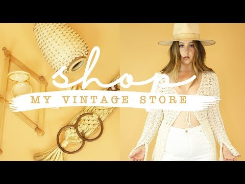 SHOP WITH ME * MY NEW VINTAGE STORE!