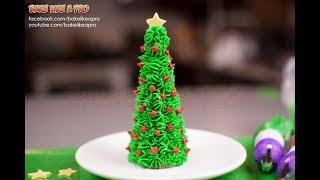 Sugar Cone Christmas Tree Tutorial