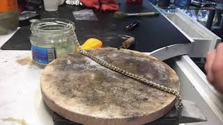 Ювелирка своими руками: Эпизод 2 Серебряная цепочка / Hand Made Jewelry Episode 2