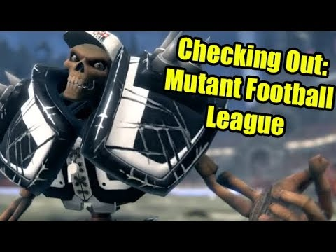 Checking Out: Mutant Football League Early Access