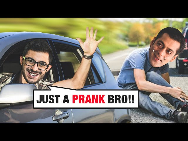 JUST A PRANK BRO | NO PROMOTIONS