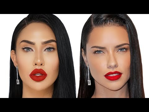 ADRIANA LIMA INSPIRED MAKEUP TUTORIAL