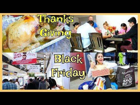 Dia De ThanksGiving 🦃 La Gran Locura De Black Friday - Nov, 23, 17 ♡IsabelVlogs♡