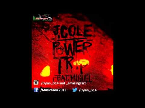 HQ Lyrics J  Cole   Power Trip Clean Ft  Miguel