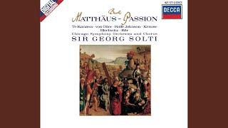"""J.S. Bach: St. Matthew Passion, BWV 244 - Part One - """"Buss und Reu... Das ging hin der Zwolfen..."""
