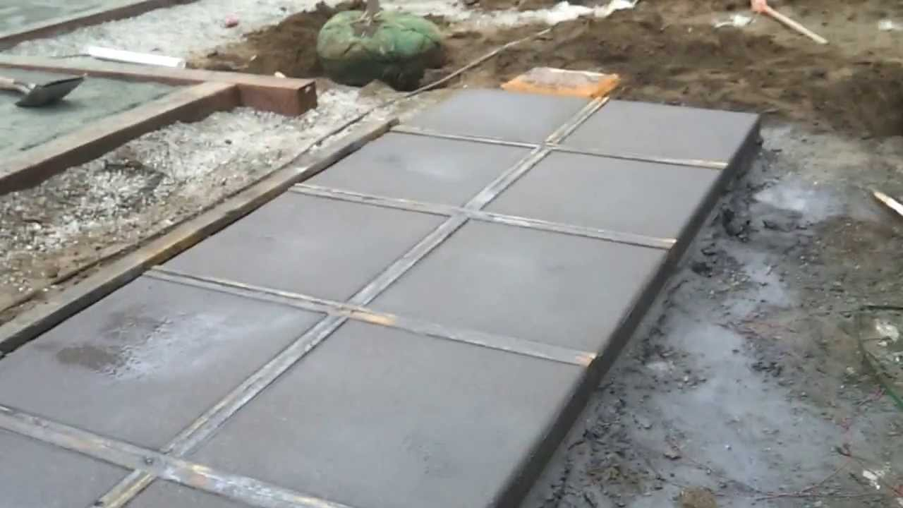 Good Blue Lotus Outdoors   Exposed / Sand Finished Concrete   YouTube