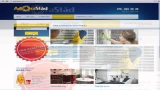 Städning Stockholm - AdoraService.com ex AdoraStad.com   [BOKA STÄDNING ONLINE](, 2012-08-21T07:42:28.000Z)