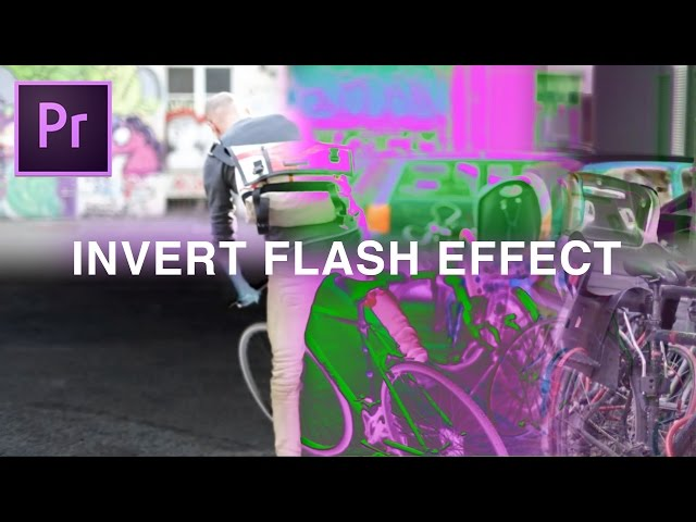 Flashing Invert Color Effect | Adobe Premiere Pro CC 2017 Tutorial How to