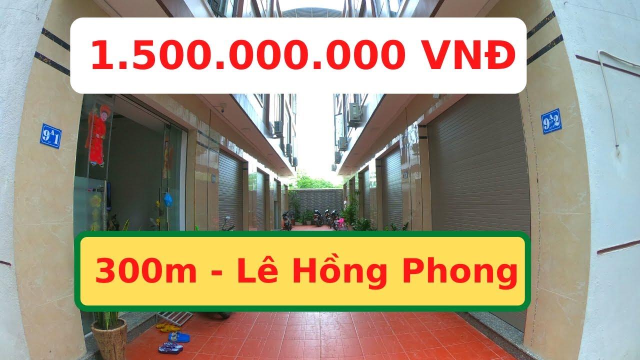 Bán Nhà Ngõ 9 Trung Hành Cách Lê Hồng Phong 300m Giá 1,5 Tỷ   Nhà Số 10