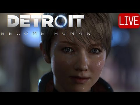 DETROIT: BECOME HUMAN #1 Full Walkthrough EXCITED!