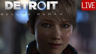 DETROIT: BECOME HUMAN #1 Full Walkthrough EXCITED! thumbnail