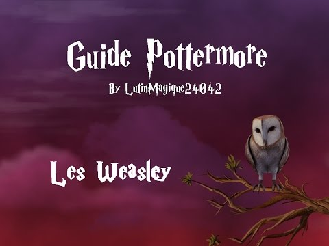 Guide Pottermore // Les Weasley [FR-HD]