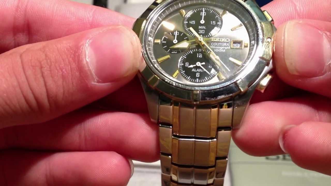 seiko coutura review youtube rh youtube com seiko coutura watch manual seiko coutura ssg009 manual