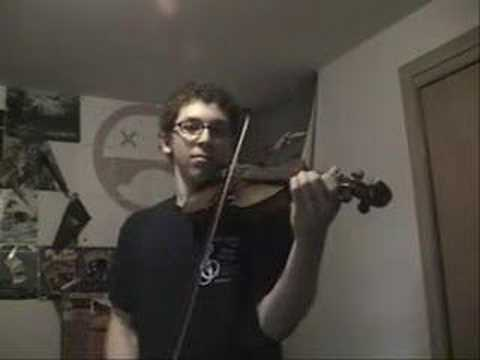 Pokemon theme song cover on violin.