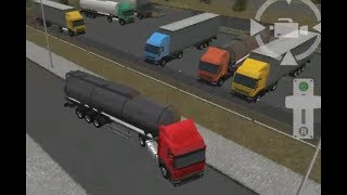 SEMI DRIVER 3D TRAILER PARKING LEVEL 1-15 | TRUCK PARKING
