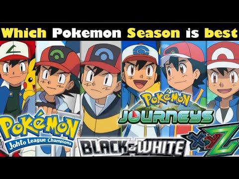 Download Which Pokemon Season is best   All Pokemon season ranking   Pokemon journeys , Pokemon xyz etc