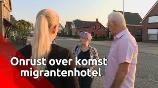 Veel weerstand in Sint Willebrord tegen de komst van een migrantenhotel