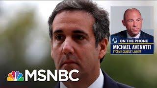 Michael Avenatti: 'I Feel Sorry' For Trump 'Scapegoat' Cohen | The Beat With Ari Melber | MSNBC