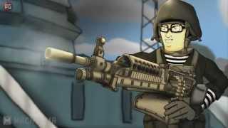 Друзья по Battlefield Битва нубов 2 Сезон 9 серия