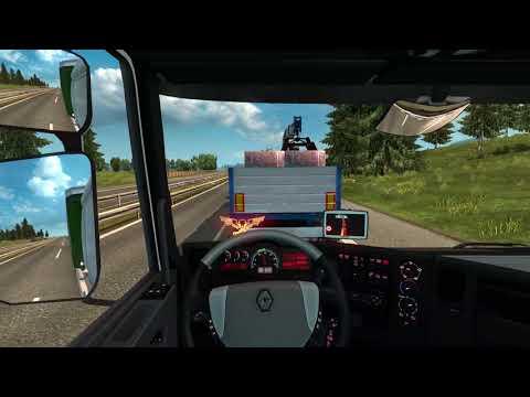 Euro Truck Simulator 2-Renault Premium-Italia DLC-FAST TRANSPORT