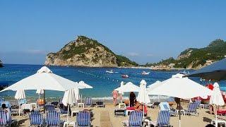 Корфу, Палеокастрица. Отдых в Акротири Бич. 2.Пляжи. Corfu. Holidays in Akrotiri Beach. 2. Beaches(Этот фильм является продолжнноем