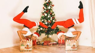 acro-gymnastics-gingerbread-house-challenge
