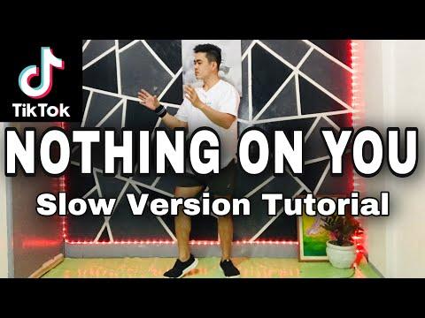 NOTHING ON YOU SLOW VERSION |TIKTOK DANCE TUTORIAL|DANCE GURU
