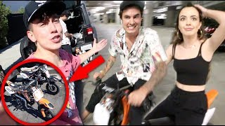 THIS WAS A BAD IDEA!! (WE BOUGHT MINI BIKES)
