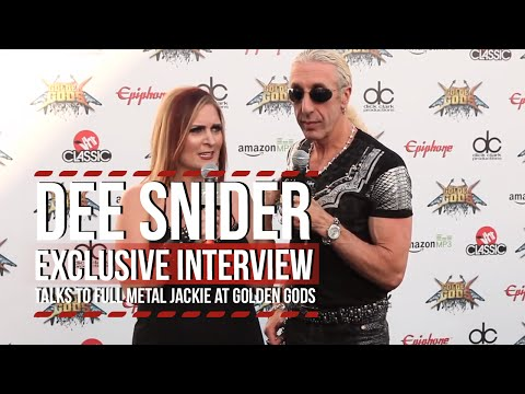 Dee Snider Talks to Full Metal Jackie at Golden Gods