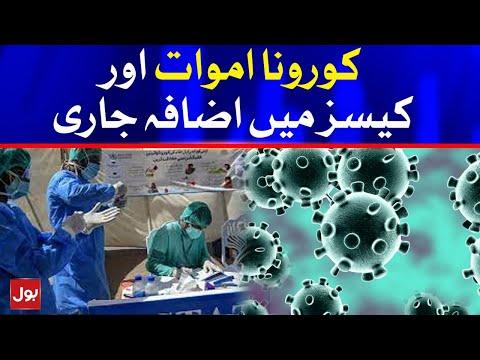 COVID-19 Latest Updates - Corona virus Cases Increasing in Pakistan
